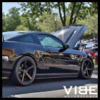 20 ROHANA RC22 BLACK CONCAVE WHEELS RIMS FITS FORD MUSTANG GT