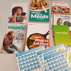 Weight Watchers Lot Workout DVD Cookbook Pamphlets WElcome Weeklies Pocket guide