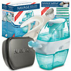 NAVAGE NASAL IRRIGATION DELUXE BUNDLE w 48 SaltPodsCaddyTravel Case NETI POT