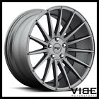20 NICHE FORM GUNMETAL CONCAVE STAGGERED WHEELS RIMS FITS ACURA TSX