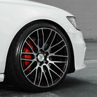 22 SAVINI BM13 MACHINED CONCAVE WHEELS RIMS FITS AUDI D3 A8 QUATTRO