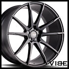 19 SAVINI BM12 BLACK CONCAVE WHEELS RIMS FITS LEXUS LS430