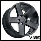 20 TSW BRISTOL BLACK CONCAVE WHEELS RIMS FITS AUDI D4 A8