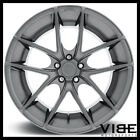 19 NICHE TARGA ANTHRACITE CONCAVE WHEELS RIMS FITS BMW E46 325 330 COUPE SEDAN