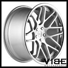20 VERTINI MAGIC SILVER CONCAVE STAGGERED WHEELS RIMS FITS TESLA MODEL S