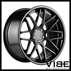 20 VERTINI MAGIC BLACK CONCAVE WHEELS RIMS FITS BMW E39 525i 528i 530i 540i