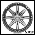 20 CONCAVO CW S8 GREY CONCAVE WHEELS RIMS FITS AUDI C7 A6