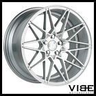 19 KLUTCH KM20 SILVER CONCAVE WHEELS RIMS FITS BMW E39 525i 528i 530i 540i