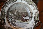 Friendly Village Johnson Brothers The School House Set of 4 Dinner Plates