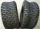 2 - 16X6.50-8 4 Ply Turf Lawn Mower Tires PAIR DS7031 16x6.5-8