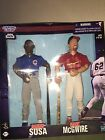 "Starting Lineup  Sammy Sosa & Mark McGwire 12"" Figures    Sultans of Swing"