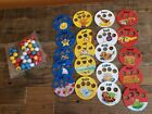 CAMPBELLS FOR KIDS ALPHABET SOUP GAME REPLACEMENT BALLS  Cards USED