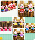 5 10 50pcs Cute Pigs Embellished Resins Flat Back Scrapbook Cell Phone Crafts