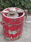 ANTIQUE-VTG WHITE MOUNTAIN FREEZER ICE CREAM MAKER-1923 PATENT DATE-AS IS
