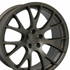 20 Bronze Challenger Hellcat Style Wheels Set 4 Rims Fits Dodge Charger 300C CP