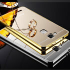 Luxury Aluminum Metal Mirror Case PC Back Cover Skin For LG Nokia Various Phone