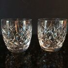 2 Waterford Cut Irish Crystal DONEGAL 9 Ounce Old Fashioned Glasses