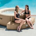 Inflatable Hot Tub Spa Bench Portable Intex PureSpa Shaped Seat Accessory Piece