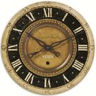 French Country Parisian Wall Clock Roman Numerals Auguste Verdier Weathered 27