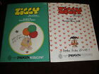 lot of 2 Ziggy cross stitch books Paragon Needlecraft 1981 & 1982