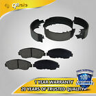 EXT New FRONT + REAR Ceramic Brake Pads + Shoes Kit for Geo Prizm Toyota