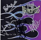 HELLACOPTERS Payin the Dues FULLY SIGNED Nicke Dregen Robert Dahlqvist AUTOGRAPH