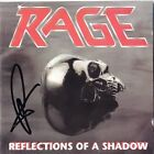 RAGE Reflections of A Shadow, PEAVY WAGNER Singer Bassist Metal Autograph SIGNED