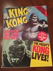 Vintage King Kong Special Report Book With Poster 6 Nice