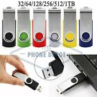 USB Flash Drive Memory Stick Storage Digital U Disk Gift 32 64 128 256 512GB 1TB