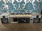 Vintage FISHER SC-300 Synthesizer Cassette Music Composer Boombox WORKS