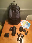 Nikon d40 Camera bundle 18 55mm 135 56GII Lens  55 200 mm 14 56G lens