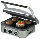 Griddler Grill Panini Sandwich Meat Press Nonstick Healthy Cooking Drip Tray