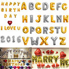 16 40 Foil Letter Number Balloons Birthday Courtship Wedding Party Decoration