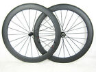 700c 60mm Clincher full Carbon Road Bike Bicycle Wheels