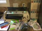 Cricut Expression Machine With Huge Lot Of Cartridges Crafting Scrapbooking