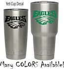 NFL Philadelphia Eagles Football Vinyl for YETI Tumbler 20 30 Ozark RTIC Sticker
