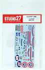 Studio27 ST27-DC830 RC212V #2/#69 2008 Decal for Tamiya 1/12