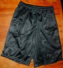 Basketball Shorts Black Alleson Perforated Youth size Small New