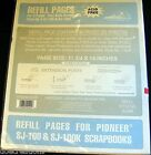 Pioneer Scrapbook Refill Pages #SJ-50R - 50 pages