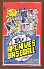 2017 TOPPS ARCHIVES BASEBALL HOBBY BOX 24 PACKS SEALED BRAND NEW AUTO'S RARE