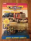 Micro Machines Super Carriers Army Flatbed Carrier Military Galoob 1990 NIP