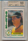1984 Topps Tiffany Traded Jackie Moore (#81T) BGS9.5 BGS