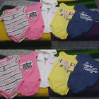 Lot 5 Pieces Juicy Couture Hoodie + Bodysuits Infant Baby Girls Size 0 3 Month