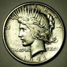 1921 P Peace Silver Dollar Key Date Coin
