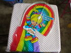 Vintage 1983 RAINBOW BRITE plastic KITE 5 colors HallMark Cards USA