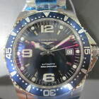 LONGINES HYDRO CONQUEST MEN'S WATCH AUTOMATIC SAPPHIRE ALL S/S L36424966 NEW