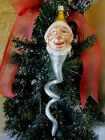 VINTAGE RARE CLOWN SNAKE 1989 EARLY CHRISTOPER RADKO CHRISTMAS ORNAMENT POLAND