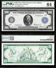 AWESOME *RARE* Very CHOICE UNCIRCULATED 1914 $100 *ATLANTA* FRN Note! PMG 64!