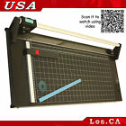 NEW Heavy Duty 24 620mm All Metal Frame Manual Rotary Paper Trimmer