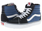 NEW MEN WOMEN VANS SK8 HI NAVY ORIGINAL SKATEBOARDING HIGH TOP OLD SKOOL